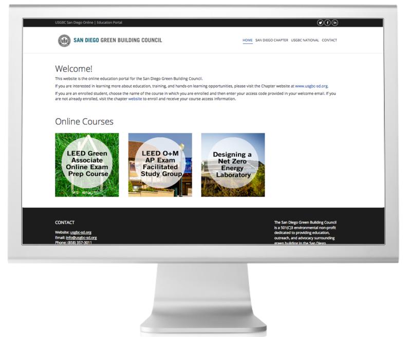 USGBC San Diego Education Portal